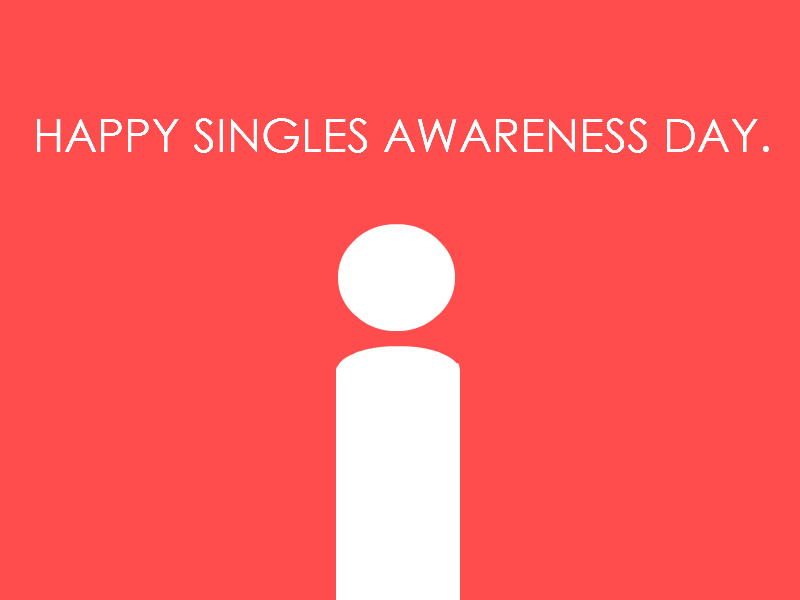 To Gen Y: Happy Singles' Awareness Day – NATE SCHRADER