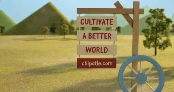 Chiptole Cultivate a Better World sign