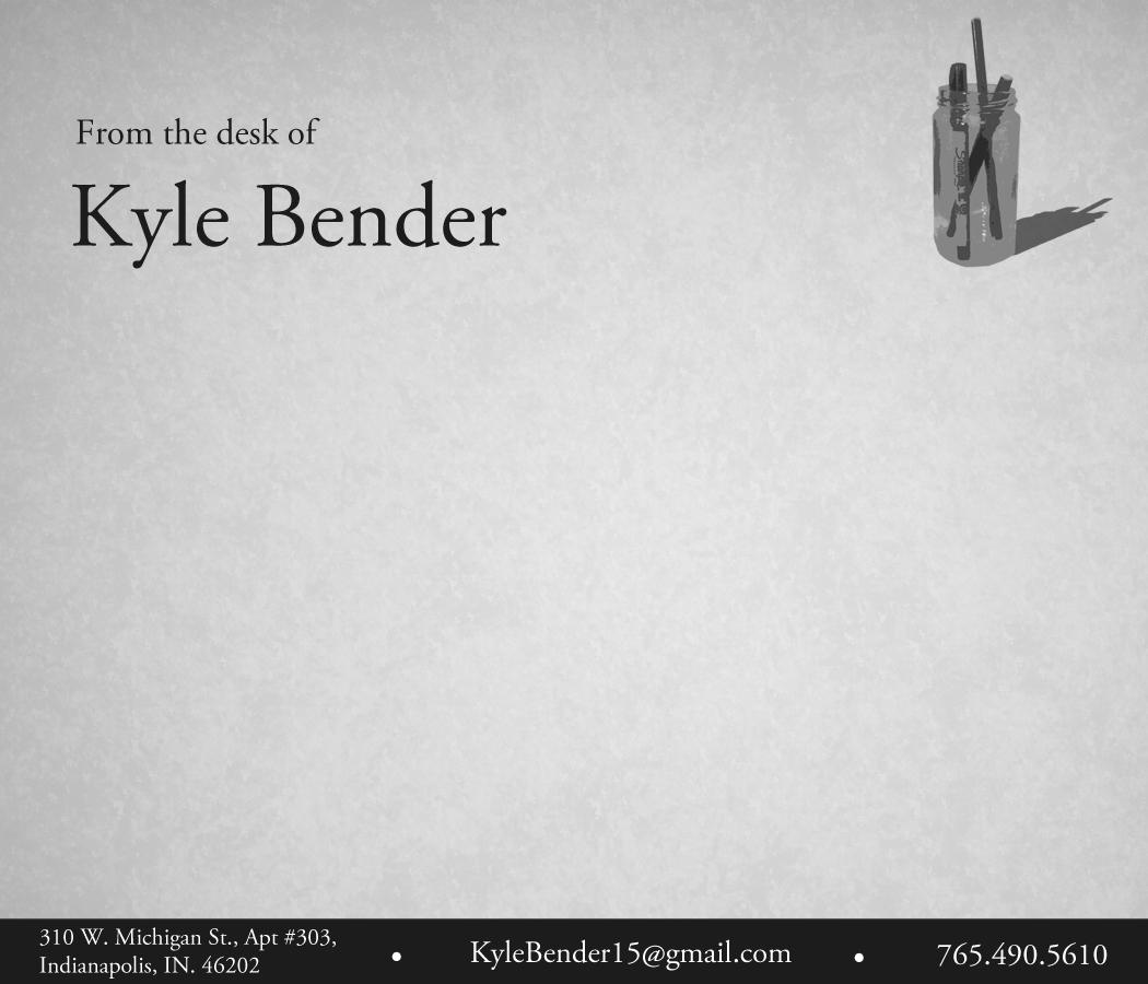 business cards  u0026 stationary for kyle bender  tfa corps member 2012
