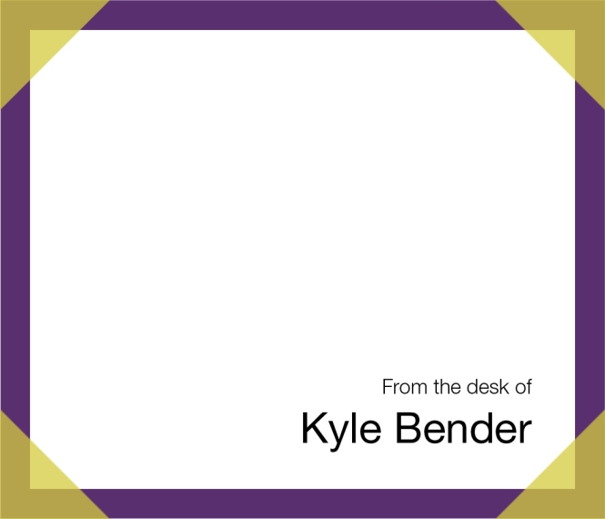 purple templated stationary by Nate Schrader