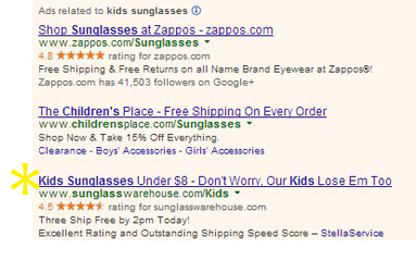 0 SW Kids Sunglasses