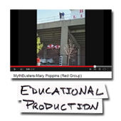 Physics Mary Poppins Mythbusters Video. Can she really descend safely?