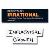 Graphic & Reflection on Ariely's Predictably Irrational