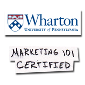 Wharton Business School Marketing 101 Certification