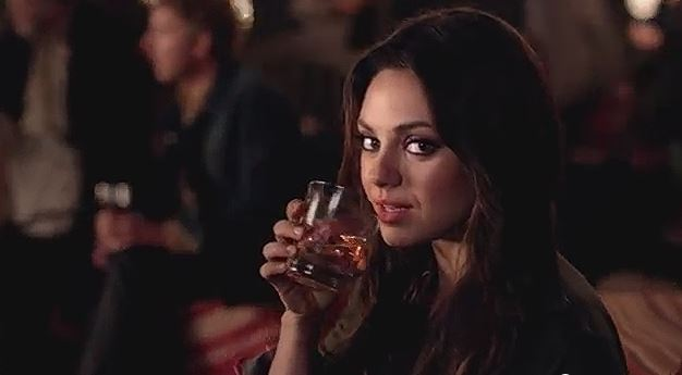 Mila Kunis Jim Beam Make History Ad
