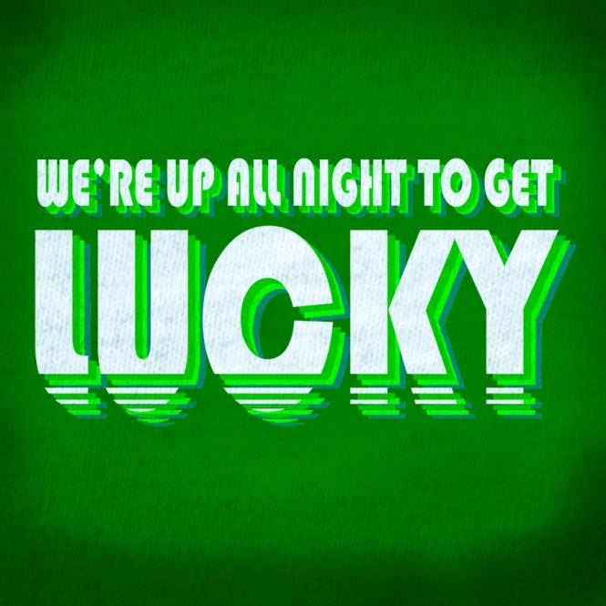 Daft Punk Get Lucky T-shirt