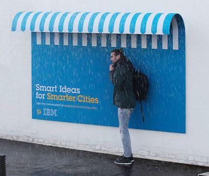 IBM shelter ad