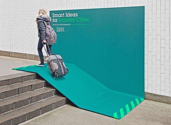 IBM ramp ad