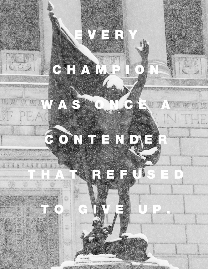 becoming a champion quote photo