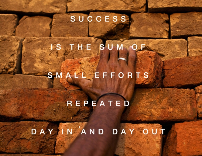 success repetition quote photo